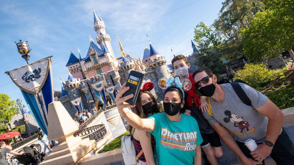 Las primeras fotos de Disneyland